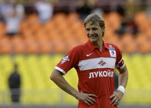 The Russian roward has failed to nail a first team place since moving to Tottenham