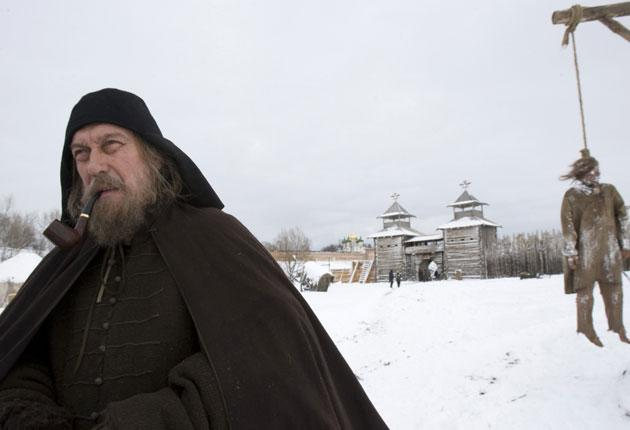 Yankovsky in his final screen role, as Metropolitan Philip in 'Tsar', to be released next year