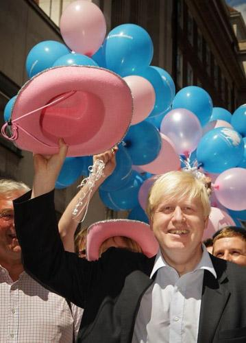 Global backing: the Mayor of London, Boris Johnson, supported the WorldPride bid