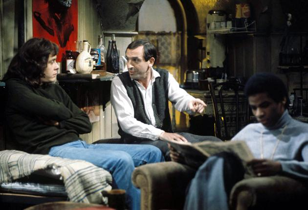 Renting rooms: Landlords like Rigsby, centre, with his lodgers in the TV classic Rising Damp, must keep the taxman in mind