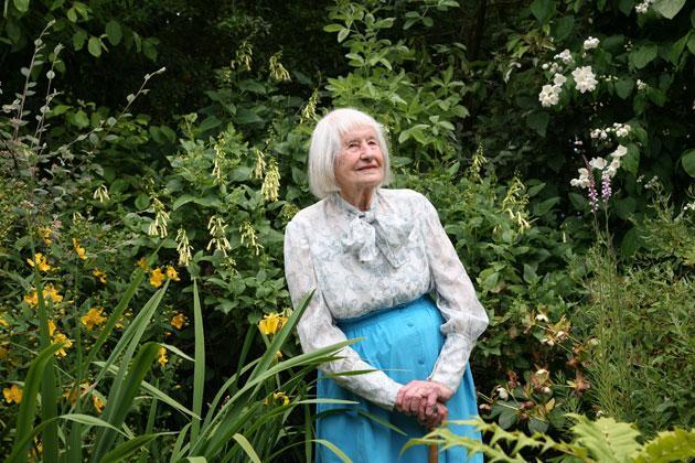 Eco-warrior Kathy Dimock aged 101 years old