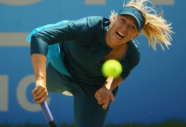 Sharapova: Heavy grunter