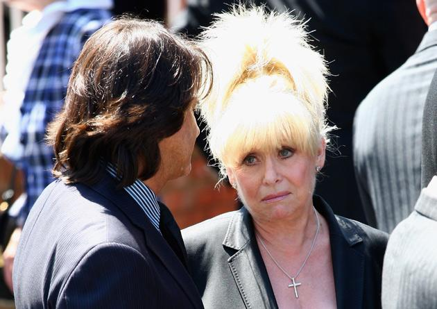 Close friend Barbara Windsor, who has known La Rue since she was 18, said her last goodbye to the entertainer when she saw him three weeks before his death.