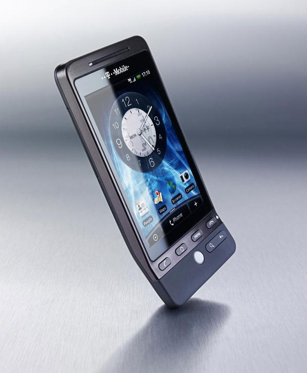 The new G1 Touch, available from T Mobile in black (pictured)