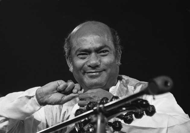 'Perhaps the greatest musician in the world': Khan at the Concert for Bangladesh at Madison Square Garden in 1971