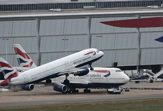British Airways has a huge presence at Heathrow Airport