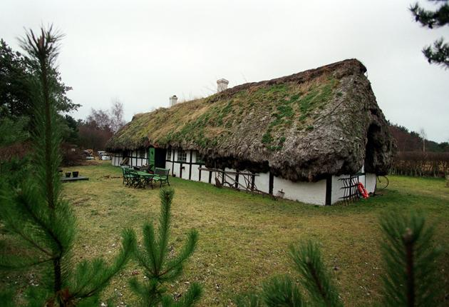 Mop top: Laeso's cottages are uniquely thatched with seaweed