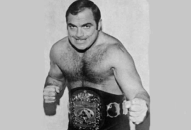 Tolos: his last fight against 'Classy' Freddie Blassie was in a cage in Bakersfield