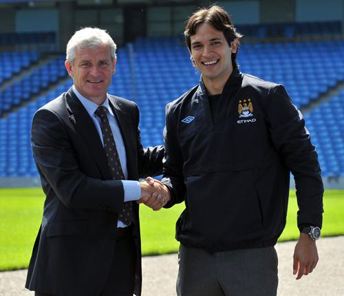 Roque Santa Cruz left Blackburn Rovers to join the Manchester City revolution