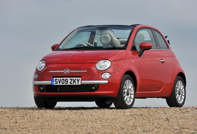 New convert: Fiat's new 500 C is the best-value soft top around