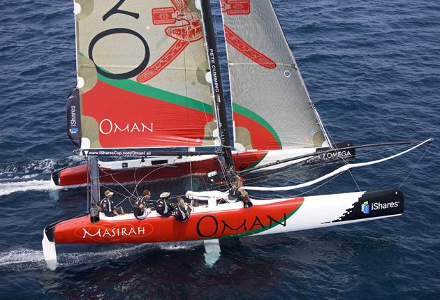 British-Omani alliance shows winning ways in Hyeres