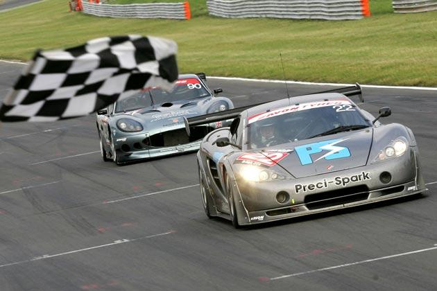 Round 9 victors David and Godfrey Jones and their Ascari