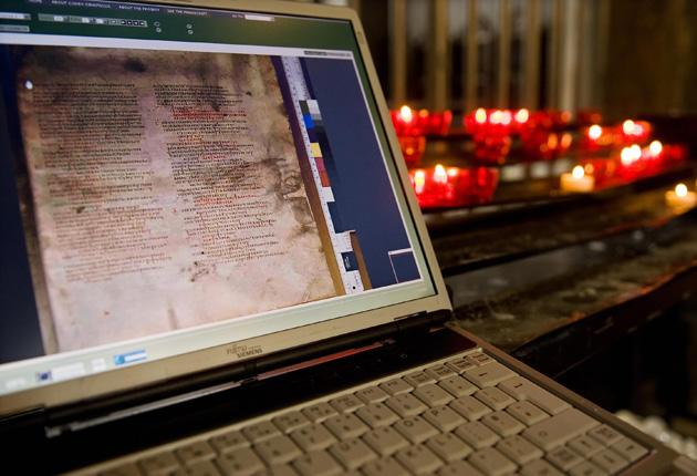 More than half of the 1,600-year-old manuscript has been pieced together by experts in the UK, Germany, Egypt and Russia and made available online