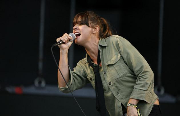 Charity case: Cat Power performs Satisfaction on the album with a twist