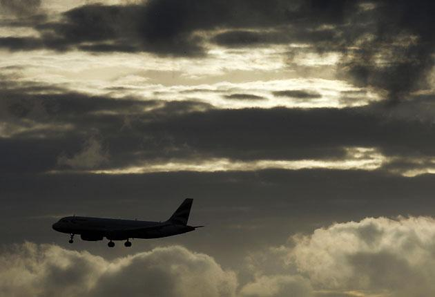Excessive stacking at Heathrow in west London has 'negative environmental impacts' say MPs