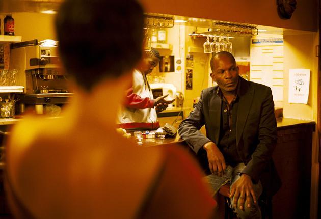 Café society: Alex Descas has a masculine charisma as Lionel, a middle-aged  Parisian train driver