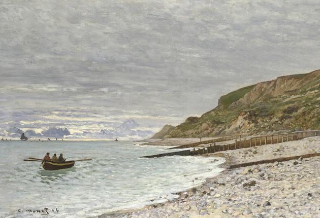 Making waves: Monet's 1864 coastal view, 'La Pointe de la Hève, Sainte-Adresse'
