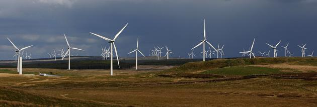 Greenpeace estimates it will cost about £100bn for improved energy infrastructure, including 7,000 more wind turbines
