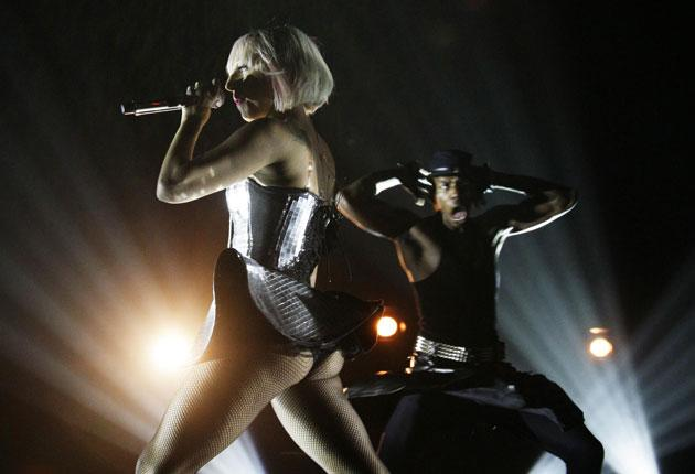 Outlandish: Lady Gaga in concert at the O2 Academy in Brixton