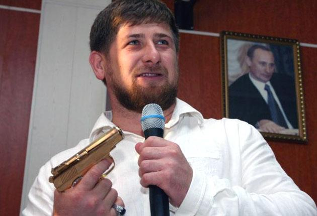 Ramzan Kadyrov: Backed by Kremlin