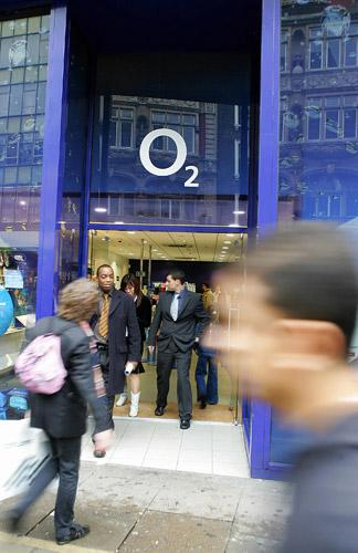 O2 will use mobile technology to keep customers updated on the balance of their cash card