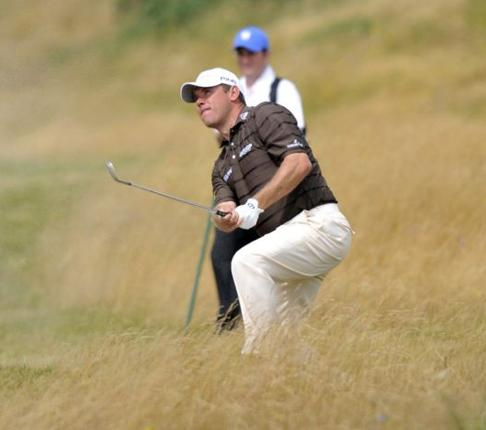 A nation expects: Lee Westwood is perfectly poised to become the first Briton to win the Open Championship's Claret Jug since Paul Lawrie 10 years ago