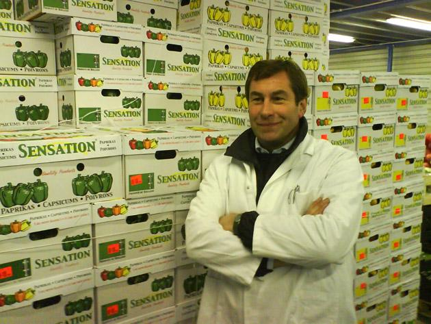 Chris Hutchinson, a wholesaler of fruit and veg at London's New Spitalfields Market, started in the trade at the age of 14