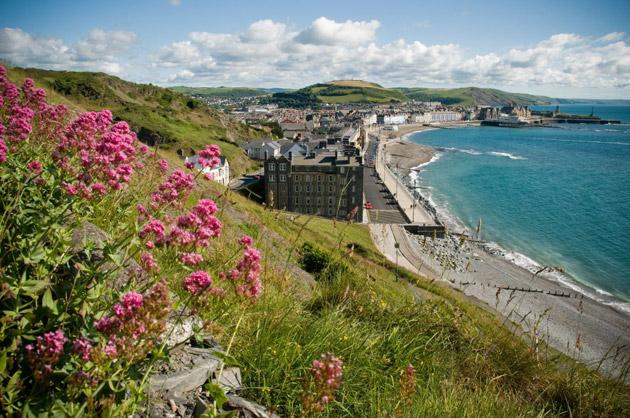 Small is beautiful: the seaside resort and university town of Aberystwyth