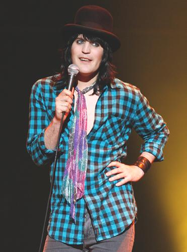 Noel Fielding is one of many non-musical attractions at this year's The Big Chill festival