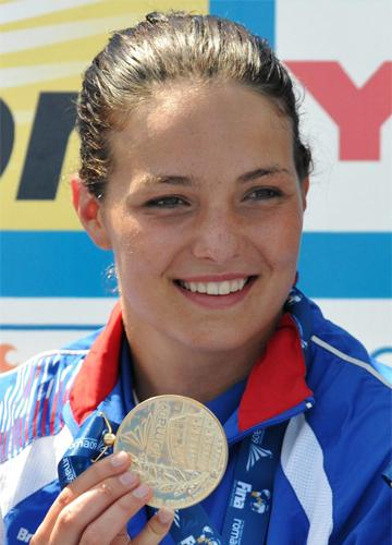 'It feels amazing,' said Keri-Anne Payne after her win in the 10km openwater race