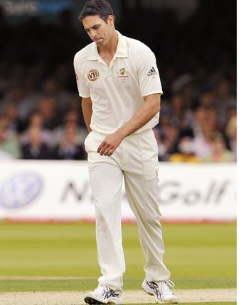 Mitch should stay in the side without any doubt. He is coming to terms with English conditions and maybe the Duke ball
