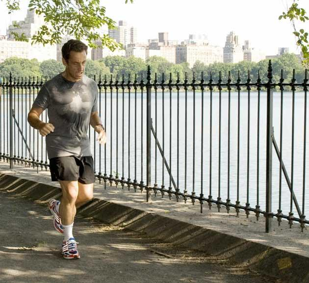 Sarkozy is a keen runner