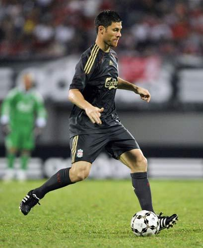 <b>Real Madrid (Spain)</b><br/> They are now complaining about the high prices quoted for players such as Xabi Alonso (pictured) but it was they who distorted the market by twice smashing the world transfer record this summer with the signings of Kaka and