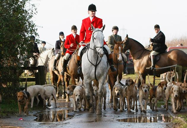 The Bicester and Whaddon Chase Hunt near Bicester