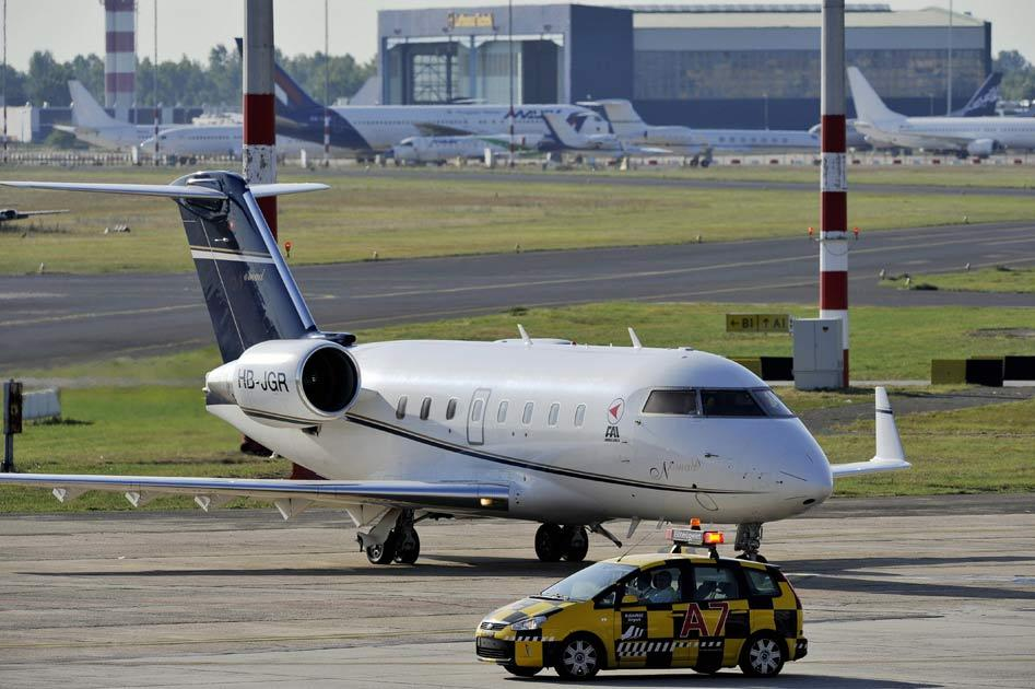 Massa left Budapest for Brazil in a private jet today