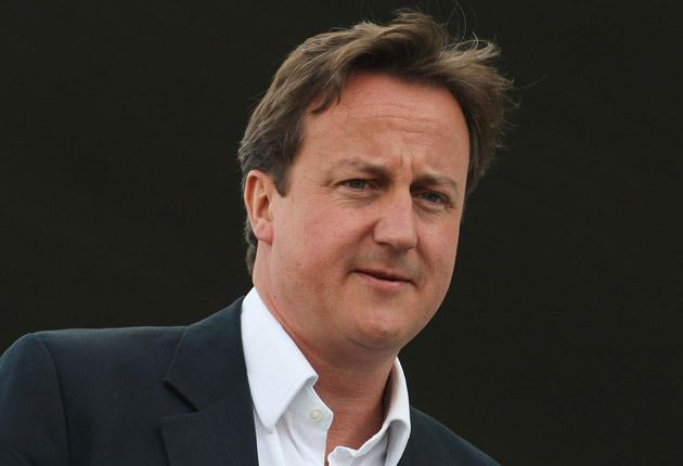 Conservative leader David Cameron has vowed to cut public spending