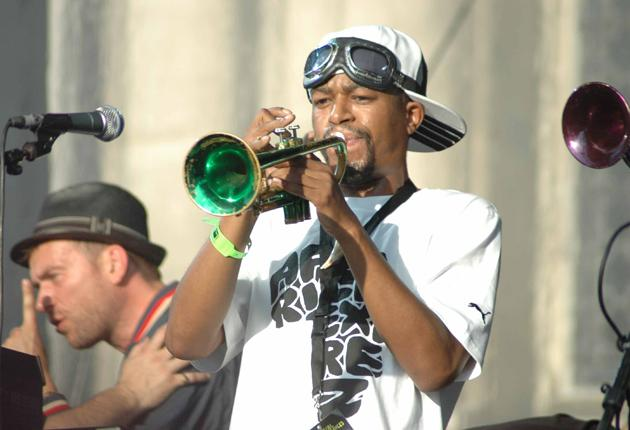 Express delivery: Hypnotic Brass Ensemble with Damon Albarn