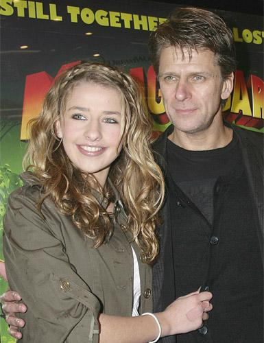 Andrew Castle with his daughter Georgina, who was prescribed a double dose of Tamiflu because of her asthma