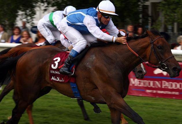 Goldikova is now heading for a second Breeders' Cup after landing her sixth Group One at Deauville yesterday