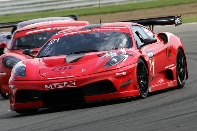 Silverstone-winning Ferrari of Duncan Cameron/Matt Griffin
