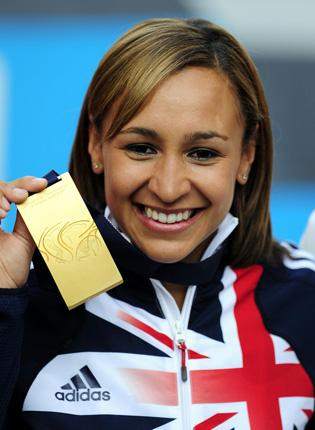 Jessica Ennis's gold medal-winning performance in the heptathlon at the World Athletics Championship provoked a joyous reaction in Sheffield