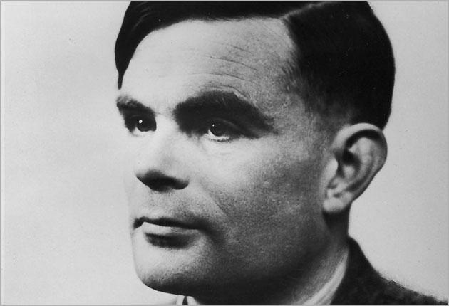 Alan Turing helped crack German Enigma codes during the Second World War