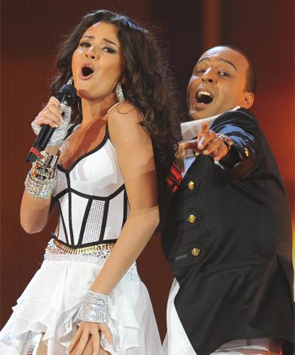AySel & Arash perform Azerbaijan's Eurovision entry in Moscow