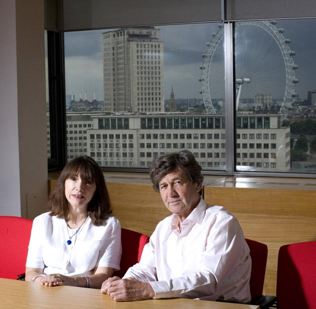 Wheels within wheels: Greenwood, left, first met Bragg when he interviewed her for a job on 'The South Bank Show'