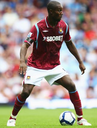 Kicking liaisons into touch: 'I've realised that there's a lot of things other than going out and enjoying yourself and a load of women,' says Hammers striker Carlton Cole