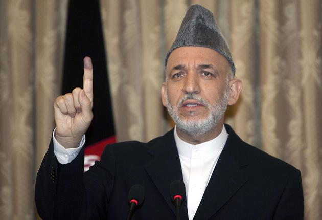 Mr Holbrooke is also said to have irritated Mr Karzai by wanting to discuss his electoral tactics
