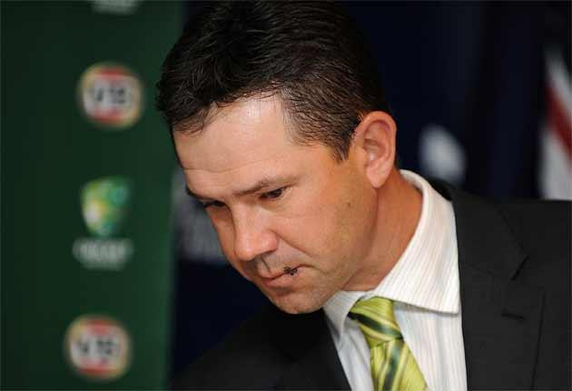 Ricky Ponting bears the physical scar on his lip to go with his mental ones from twice losing the Ashes as captain