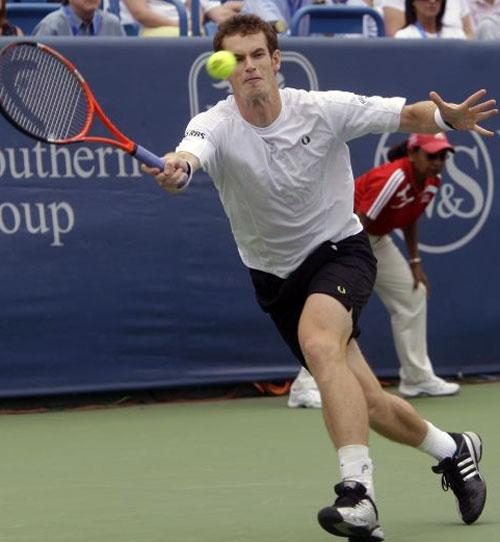 Andy Murray is scheduled to meet the same three opponents this year that he faced in the last three rounds at the US Open last season