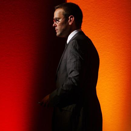 James Murdoch argued for self-regulation of the broadcasting industry