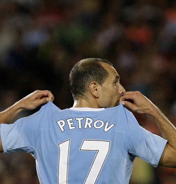 Petrov was linked with a swap deal involving Dadvid Bentley